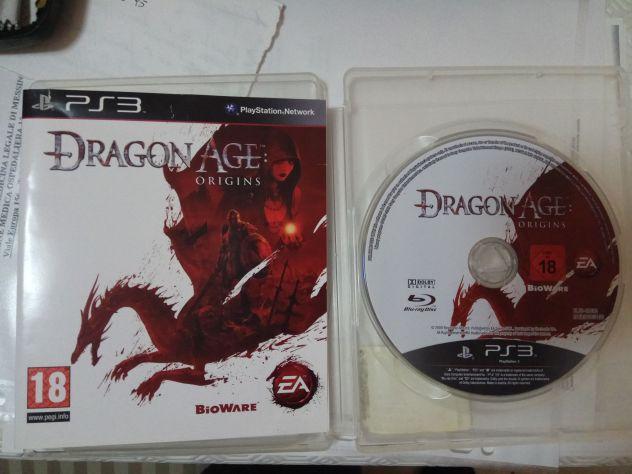 Sony Playstation 3 PS3 Dragon Age Origins pal ita