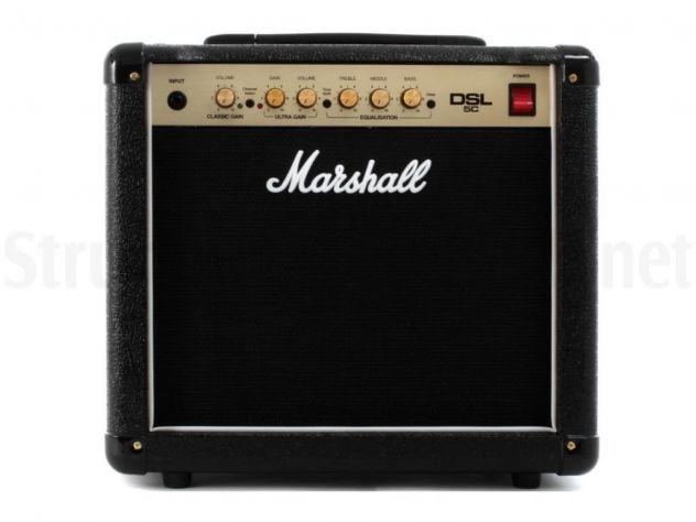 Amplificatore Valvolare MARSHALL DSL 5C -NUOVO-