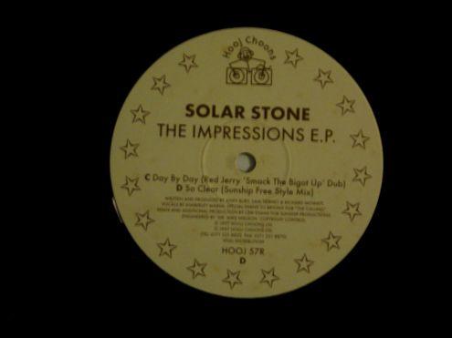 12 ' EP originale del 1997-Solar Stone-The impressions E.P. - Foto 3