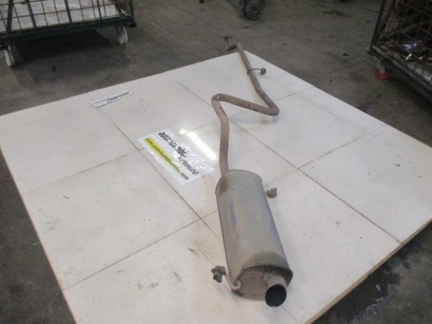 FORD FIESTA 1.6 D 5M 70KW (2010) RICAMBIO TUBO DI SCARICO SILENZIATORE POST …
