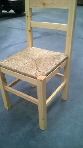 Sedie Pub Ristoranti: Sedie modello anita  pino  grezzo