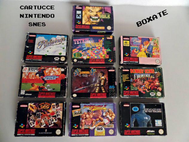 Cartucce / giochi Super Nintendo SNES (TESTATE) Boxate e loose - Foto 5