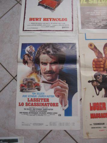 MANIFESTI LOCANDINE  70X30 VECCHI FILM A COLORI ORIGINALI