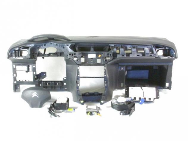 9673657880 KIT AIRBAG CITROEN C3 1.4 54KW 5P B/GPL 5M (2010) RICAMBIO USATO …