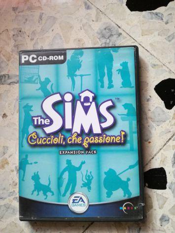 The sims 1 cuccioli che passione