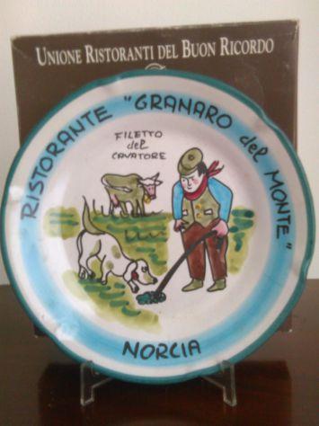 Piatto Buon Ricordo. Granaro Del Monte Norcia