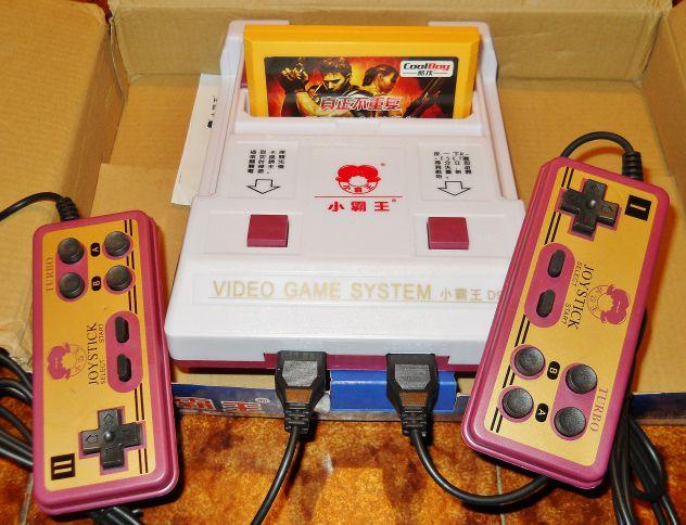 Console nintendo famicom nes clone famiclone D99 + cartuccia con 400 giochi