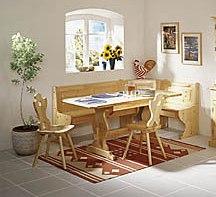 Cucine in legno: Panca,TAvolo 200x80x4,Sedie NUOVO AFFARE