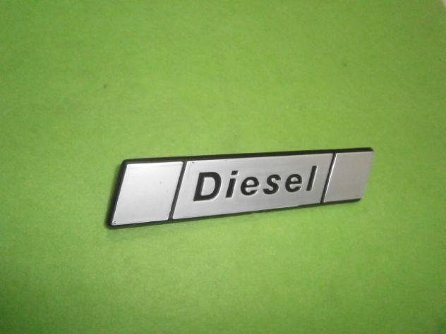 Fiat 131 diesel scritta posteriore  logo targhetta - Foto 3