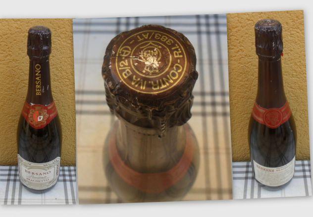 Antica bottiglia di brachetto Bersano -