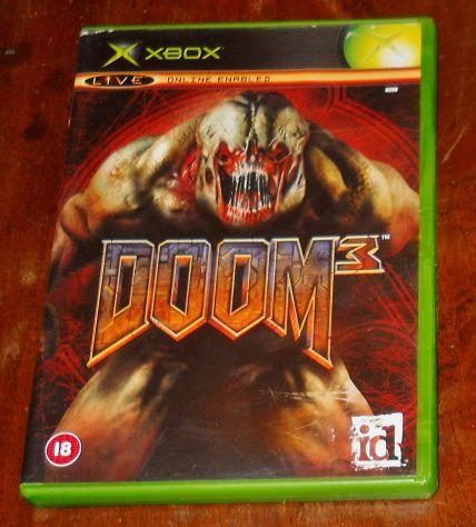 Doom 3 microsoft XBOX - XBOX 360 gioco horror sparatutto PAL FPS