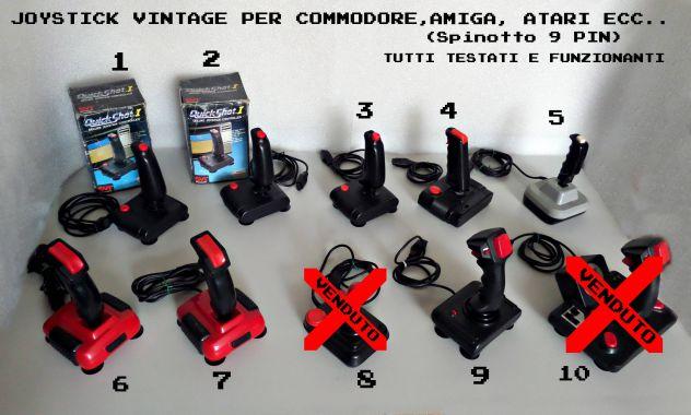Joystick vintage, Commodore, Amiga, Atari e compatibili 9 PIN