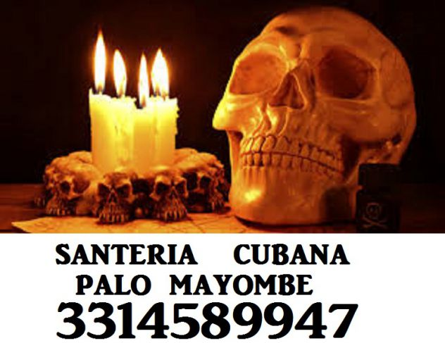 SANTERA CUBANA LEGAMENTI  D'AMORE PALO MAYOMBE 3314589947