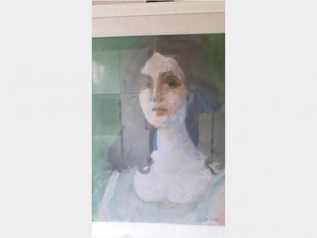 Quadro del pittore Anacleto Margotti