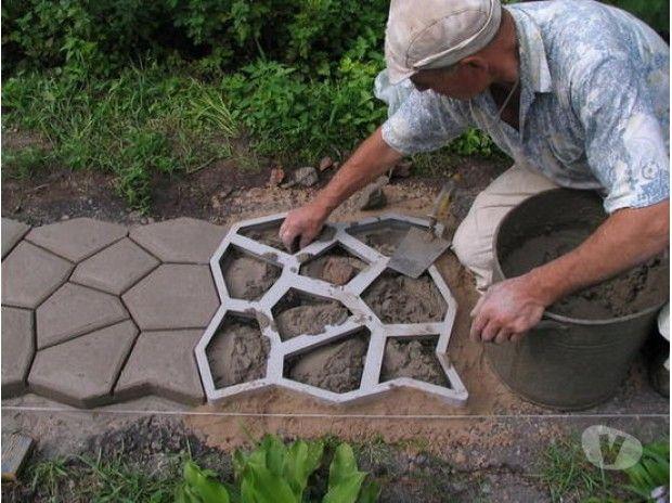 Stampo effetto pietra irregolare per pavimenti stampati