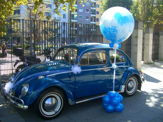 Noleggio MAGGIOLINO 1962 per Matrimoni, eventi ecc ...