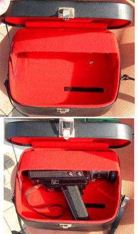 Videocamera COSINA 736 HI-Delux  silent super 8 cartridge made in Japan - Foto 7