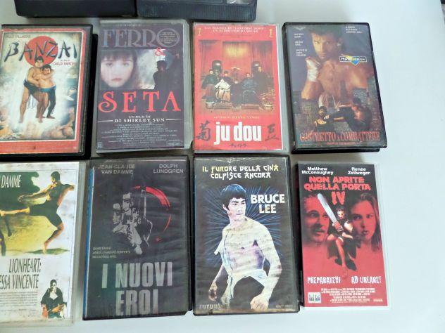 VHS vari  lotto misto  Originali d'epoca. TESTATI (INTERO LOTTO) - Foto 10