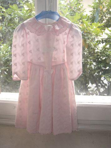 Vestito da cerimonia rosa da bambina - Annunci Bologna 5acbfccd4ef