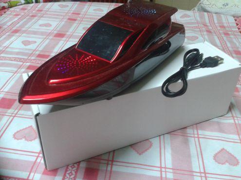 LETTORE PLAYER MP3 CON RADIO A FORMA DI MOTOSCAFO - Foto 2