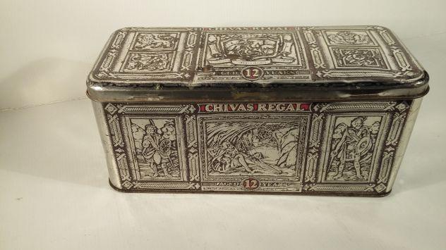 V152 riuso scatola latta Chivas Regal