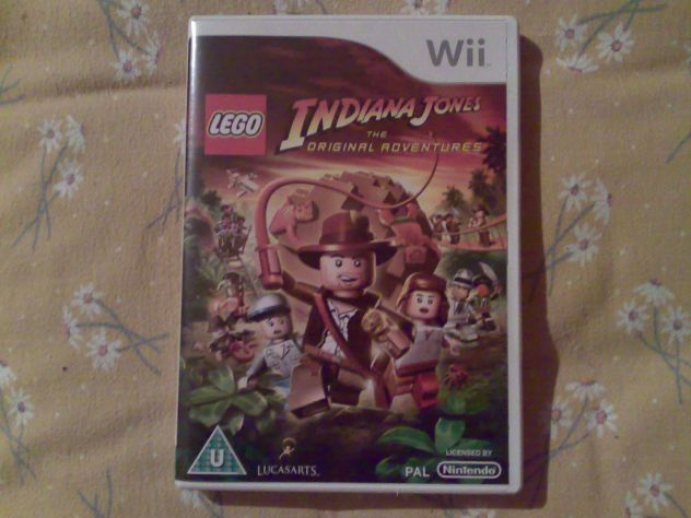 Vendo Lego Indiana Jones The original adventures Wii Pal usato