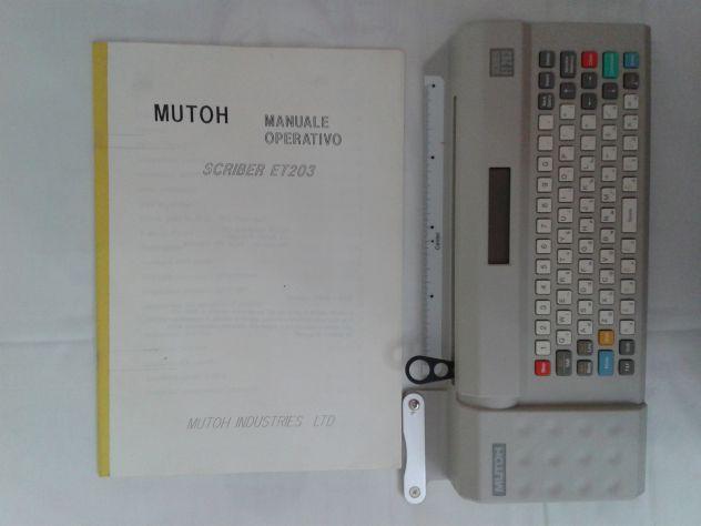 MUTOH ET203 SCRIBER - Foto 4