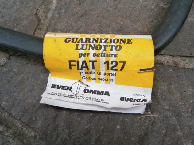 Guarnizione lunotto posteriore Fiat 127 1°s prima serie (BAULETTO) NUOVA - Foto 2