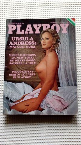 PlayBoy del 1975 Ursula Andress