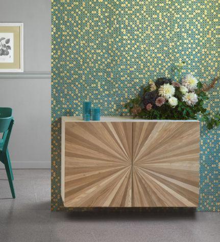 Composizione tipo, soggiorno in legno. COD CVG 7 - Foto 2