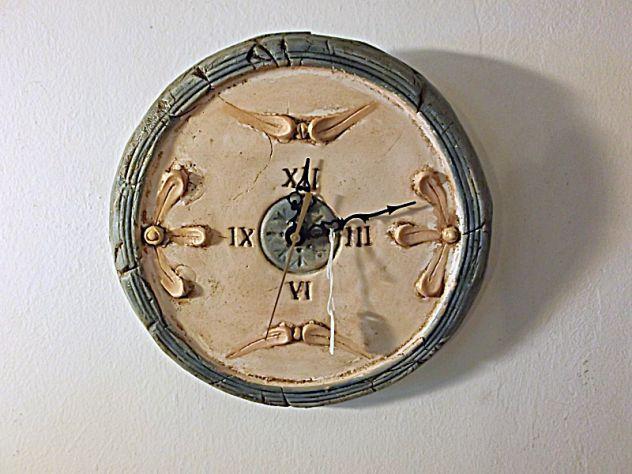 Orologio da parete in Ceramica dipinto a mano Articolo