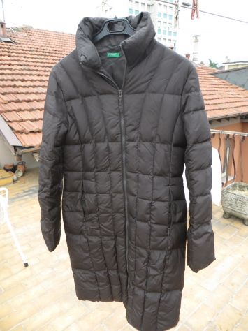 wholesale dealer 49246 4012a giaccone donna benetton in piumino