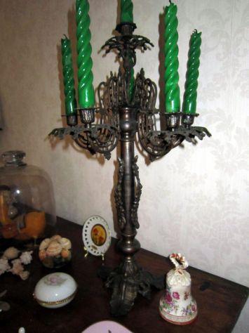 Antica coppia di Candelieri