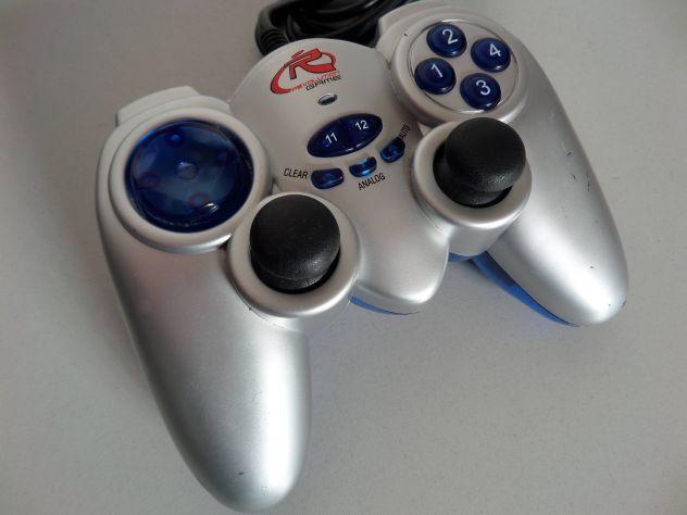 Joypad per PC (stile playstation) con levette + vibrazione, spin. USB - Foto 2