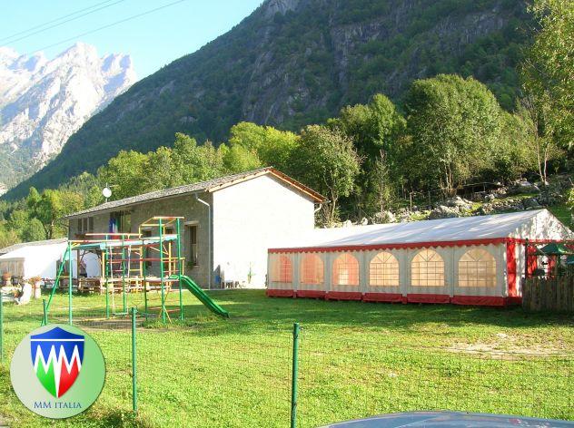 Tendoni 6 x 12  prof. pvc ignifugo Adunata alpini a Trento - Foto 5