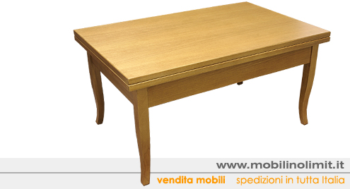 Tavolino Trasformabile salvaspazio (nuovo)