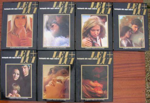 LEI LUI ENCICLOPEDIA DELLA COPPIA MODERNA Alberto Peruzzo Editore anno 1975 … - Foto 2