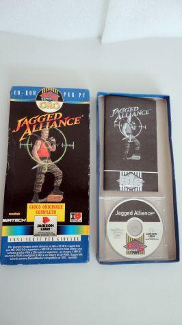Jagged Alliance ITALIANO,PC (big games oro) vintage - Foto 3