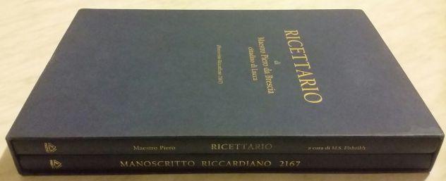 Ricettario Maestro Piero da Brescia cittadino di Lucca manoscritto Riccardiano