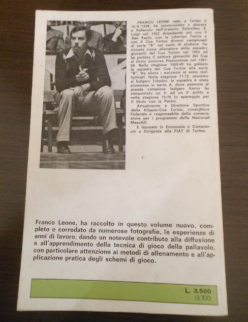 Pallavolo, FRANCO LEONE, MANUALI PRATICI MEB 1978. - Foto 3