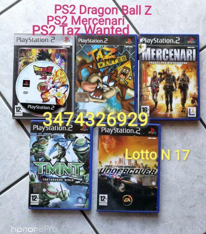 Giochi PS2 Dragon Ball Z 2 Taz Wanted