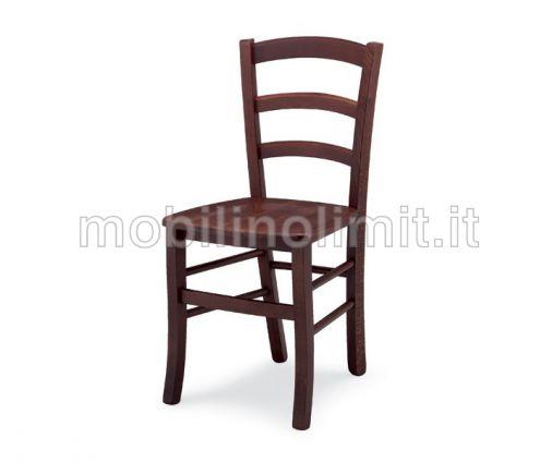 Sedia Venezia con seduta in Legno - Nuovo