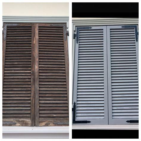 verniciatura restauro infissi finestre scuri legno ferro - Foto 5