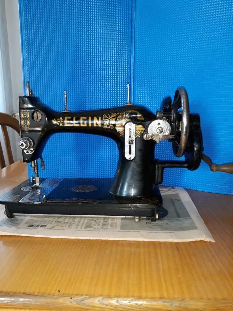 Antica macchina da cucire - Foto 4