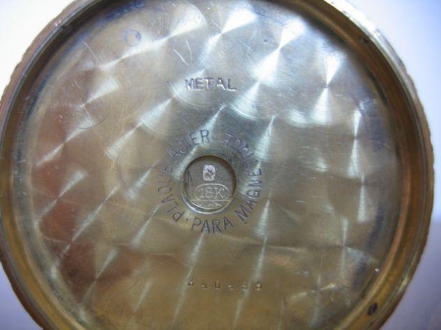 Orologio da Tasca Taschino Cipolla ZENITH Oro 18 K - Primi '900 - Foto 9