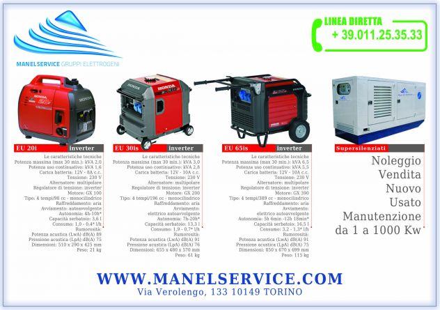 Noleggio generatori di corrente 10 KW silenziati, Padova - Foto 2
