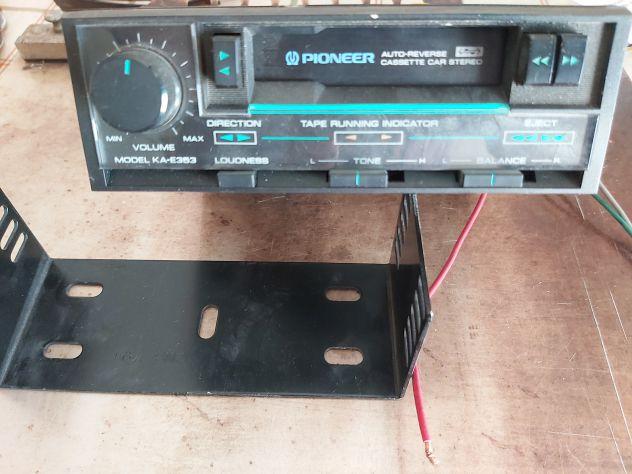 Autoradio lettore cassette pioneer