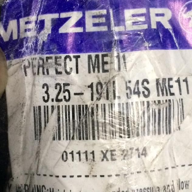 Metzeller 3.25 /19 a 54 cc 500 immatricolata 1634 - Foto 2