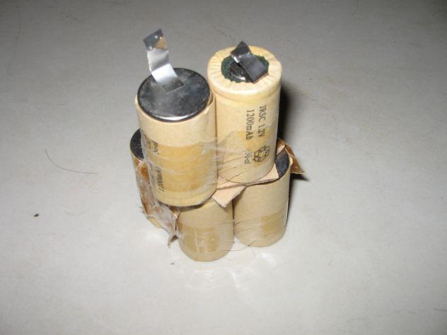 Batterie ricambio avvitatore 7,2V 1200mAh - 10€
