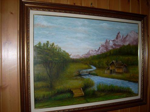 Quadro a olio paesaggio - Foto 3